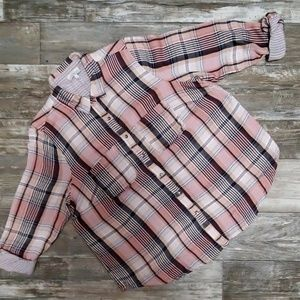 Lucky brand button down size 1x